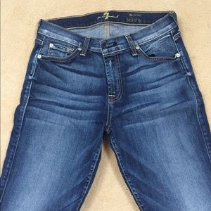 7 for all Mankind Skinny Ankle sz 28